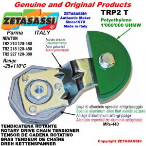 Tendicatena rotante TRP2T 16A1 ASA80 semplice Leva 218 Newton 120:480
