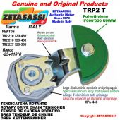 "Tendicatena rotante TRP2T 20B1 1""1/4x3/4"" semplice Leva 218 Newton 120:480"