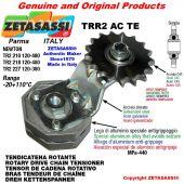 "Tendicatena rotante TRR2ACTE con pignone tendicatena semplice 16B1 1""x17 Z12 temprati Leva 210 Newton 120:480"