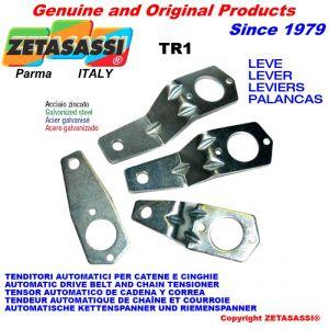 leva TR1 111 per tenditore rotante - foro ø12,5mm
