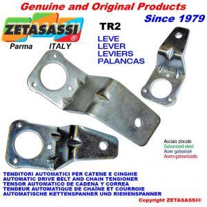 leva TR2 210 per tenditore rotante - foro ø10,5mm