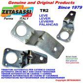 leva TR2 227 per tenditore rotante - foro ø12,5mm