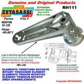 Elemento tenditore rotante RH111 M8x1,25mm Newton 10-120