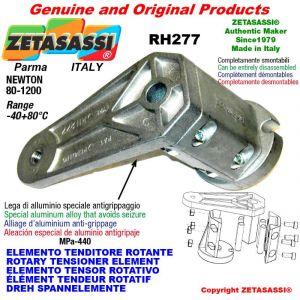 ELEMENTO TENDITORE ROTANTE RH277 filetto M10x1,5 mm per attacco accessori Newton 80-1200