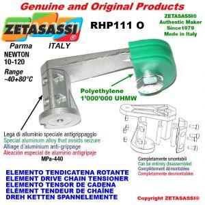 """ELEMENTO TENDICATENA ROTANTE RHP111O 08B2 1/2""""x5/16"""" doppia Newton 10-120"""