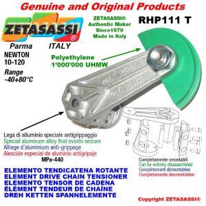 """Elemento tendicatena rotante RHP111T 06B2 3/8""""x7/32"""" doppio Newton 10-120"""