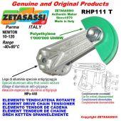 "Elemento tendicatena rotante RHP111T 06B3 3/8""x7/32"" triplo Newton 10-120"