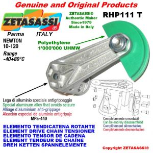 "Elemento tendicatena rotante RHP111T < 08B1 1/2""x5/16"" semplice Newton 10-120"