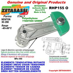 "Elemento tendicatena rotante RHP155O 08B1 1/2""x5/16"" semplice Newton 30-280"