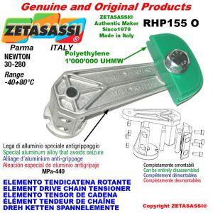 "Elemento tendicatena rotante RHP155O 06B1 3/8""x7/32"" semplice Newton 30-280"