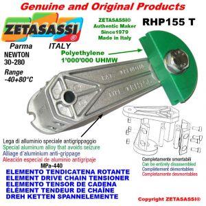 """Elemento tendicatena rotante RHP155T 06B2 3/8""""x7/32"""" doppio Newton 30-280"""