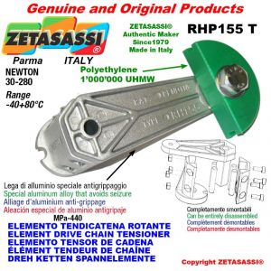 """ELEMENT DRIVE CHAIN TENSIONER RHP155T 08B2 1/2""""x5/16"""" double Newton 30-280"""
