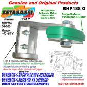 Elemento tendicatena rotante RHP188O 24A1 ASA120 semplice Newton 50-500