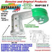 Elemento tendicatena rotante RHP188T 12A2 ASA60 doppio Newton 50-500