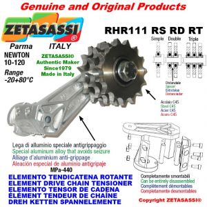 "Elemento tendicatena rotante RHR111RSRDRT con pignone tendicatena 06B1 3\8""x7\32"" semplice Z15 Newton 10-120"