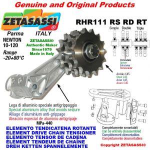 "Elemento tendicatena rotante RHR111RSRDRT con pignone tendicatena 08B2 1\2""x5\16"" doppio Z15 Newton 10-120"