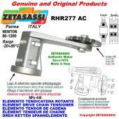 "Elemento tendicatena rotante RHR277AC con pignone tendicatena doppio 12B2 3\4""x7\16"" Z15 Newton 80-1200"