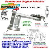 "Elemento tendicatena rotante RHR277ACTE con pignone tendicatena semplice 06B1 3\8""x7\32"" Z21 temprati Newton 80-1200"