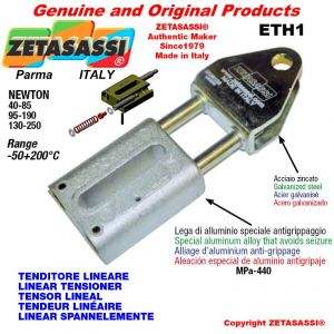 LINEAR SPANNELEMENTE ETH1 mit Gabel 62 mm zur Anbringung von Zubehör Newton 95-190
