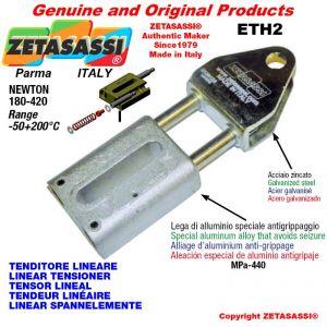 LINEAR SPANNELEMENTE ETH2 mit Gabel 80 mm zur Anbringung von Zubehör Newton 180-420