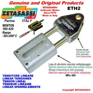 LINEAR TENSIONER ETH2 wiht fork 80 mm for attachment of accessories Newton 180-420