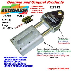 LINEAR SPANNELEMENTE ETH3 mit Gabel 34.6 mm zur Anbringung von Zubehör Newton 300-650