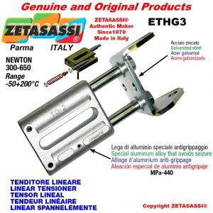 LINEAR SPANNELEMENTE ETHG3 mit Gabel 105 mm zur Anbringung von Zubehör Newton 300-650