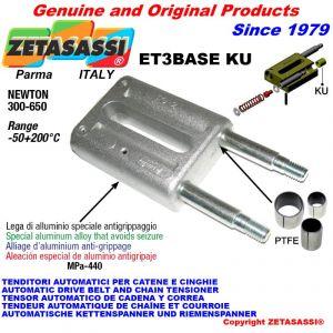 Tenditore lineare ET3BASEKU Newton 300-650 con boccole PTFE