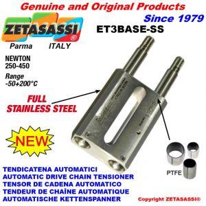 TENDEUR LINÉAIRE ET3BASE-SS entièrement en acier inoxydable  Newton 250-450