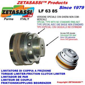 """LIMITADOR DE PAR CON ABRAZADERA ESPECIAL """"LF 63-85"""""""