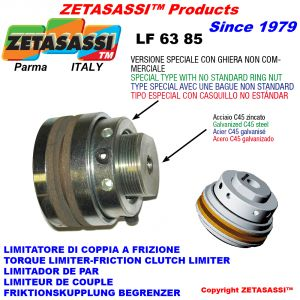 "TORQUE LIMITER WITH SPECIAL BUSHING ""LF 63-85"""