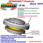 limitatore di coppia a frizione con segnalatore di slittamento LFSL
