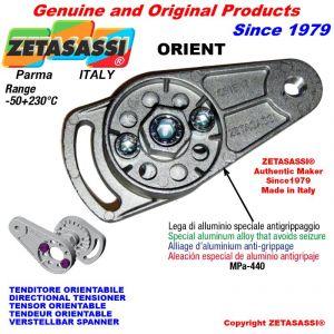 TENDEUR ORIENTABLE ORIENT filetage M8x1,25 mm pour fixation de accessories