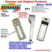 Tenditore regolabile TF foro Ø12,5mm per attacco accessori