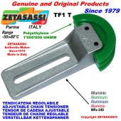 ADJUSTABLE CHAIN TENSIONER TF 08A2 ASA40 double