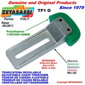 ADJUSTABLE CHAIN TENSIONER TF 08A1 ASA40 simple
