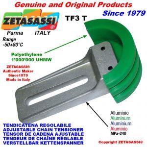 "Tendicatena regolabile TF 16B3 1""x17mm triplo"