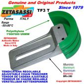 """TENDEUR DE CHAINE REGLABLE TF 16B1 1""""x17mm simple"""