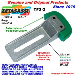 "Tendicatena regolabile TF 20B1 1""1/4x3/4"" semplice"