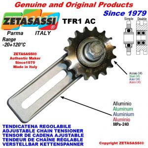 "Tendicatena regolabile TFR con pignone tendicatena doppio 12B2 3\4""x7\16"" Z15"