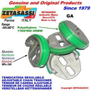 "TENSOR DE CADENA AJUSTABLE GA 06B1 3/8""x7/32"" simple"
