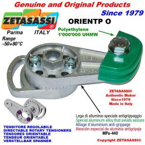 TENDEUR DE CHAINE ORIENTABLE ORIENTP 08A1 ASA40 simple