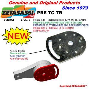 Précharge pour tenseur rotatif TC & TR