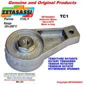 DREH SPANNELEMENTE TC1 mit Schmierer mit Bohrung Ø12,5mm zur Anbringung von Zubehör Newton 50-180