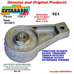 TENDITORE ROTANTE TC1 con ingrassatore foro Ø14,5mm per attacco accessori Newton 50-180