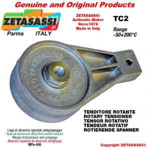 ROTARY DRIVE TENSIONER TC2 thread M12x1,75 mm for attachment of accessories Newton 120-500