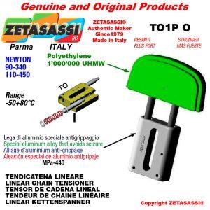 """TENDEUR DE CHAINE LINÉAIRE 12B1 3/4""""x7/16"""" simple Newton 90-340"""