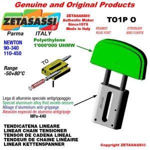 "TENSOR DE CADENA LINEAL 12B1 3/4""x7/16"" simple Newton 90-340"