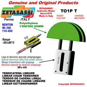 "TENSOR DE CADENA LINEAL 10B1 5/8""x3/8"" simple Newton 90-340"
